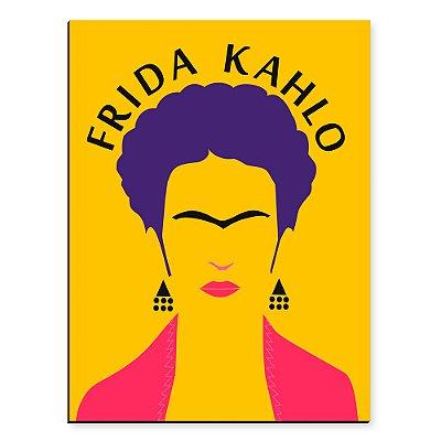 Placa Mdf Frida Geometrica