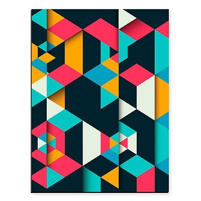 Placa Mdf Geometrico 3D