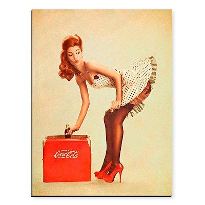 Placa Mdf Pinup Coke