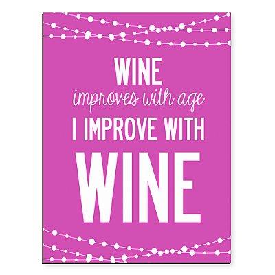 Placa Mdf Wine Improves