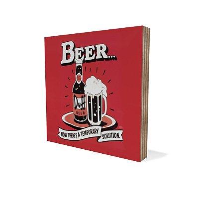 Placa Compensado Mini Beer Solution