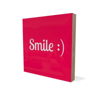 Placa Compensado Mini Smile
