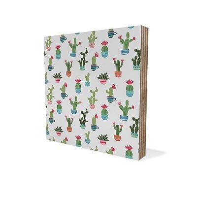 Placa Compensado Mini Textura Cactus