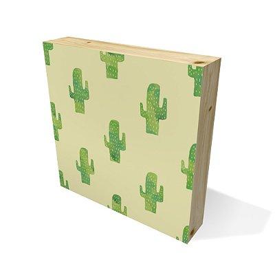 Quadro Pinus Quadrado Cactus
