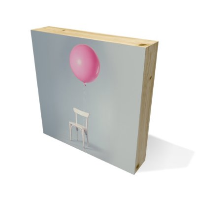 Quadro Pinus Quadrado Chair With Ballon