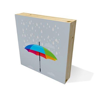 Quadro Pinus Quadrado Umbrella