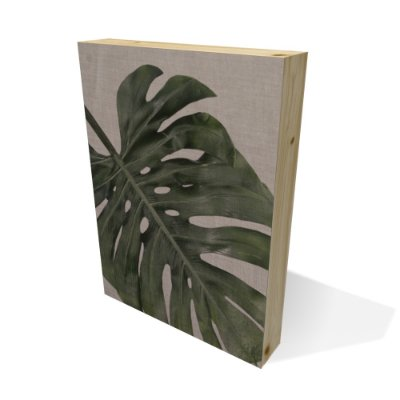 Quadro Pinus Retangular Folha Grande