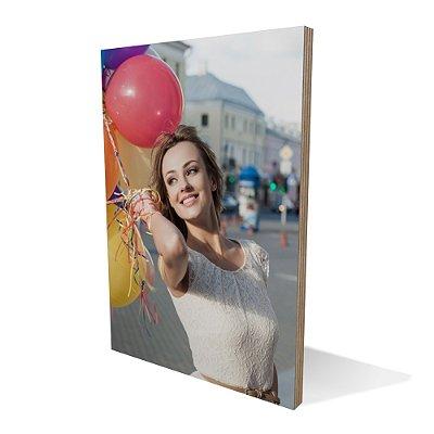 Placa Compensado Ballon Girl