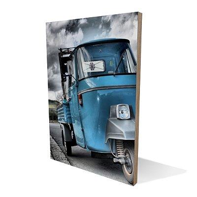 Placa Compensado Blue Car