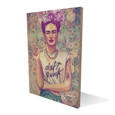 Placa Compensado Frida Pun