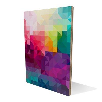 Placa Compensado Geometric Colors