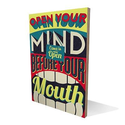 Placa Compensado Rtero Open Your Mind