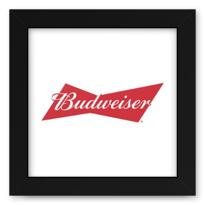 Quadro 20x20 Bebidas Cerveja Bud