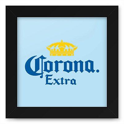 Quadro 20x20 Bebidas Cerveja Corona