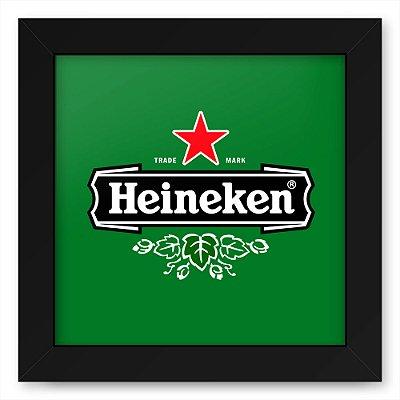 Quadro 20x20 Bebidas Cerveja Heineken