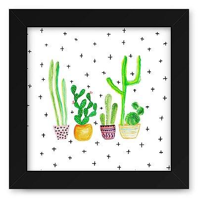 Quadro 20x20 Cactus +