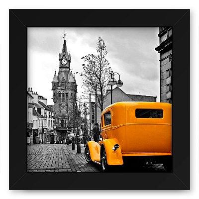 Quadro 20x20 Cidades Yellow Car