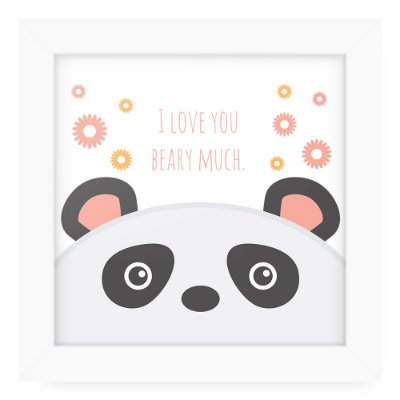 Quadro 20x20 Cute Animals Bear