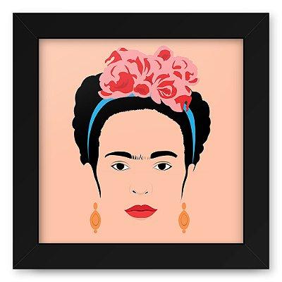 Quadro 20x20 Frida Minimalista