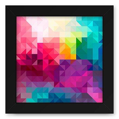 Quadro 20x20 Geometrico Colors