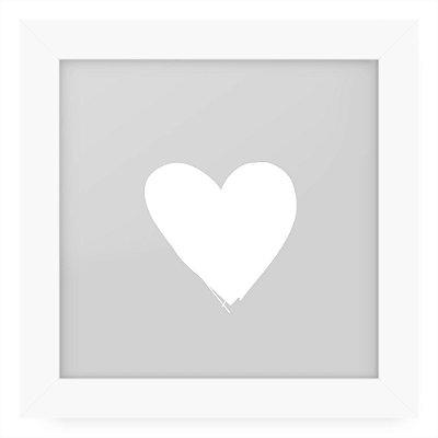 Quadro 20x20 Greys Heart