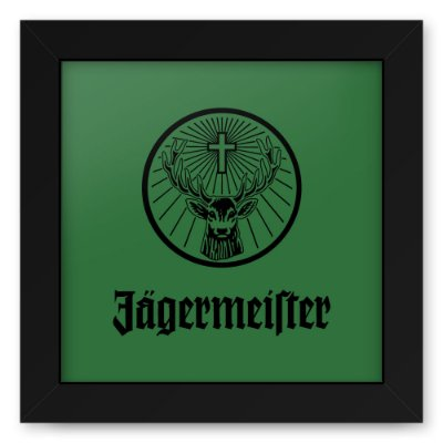 Quadro 20x20 Jager Green