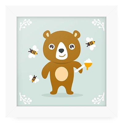 Quadro 20x20 Litle Cuties Bear