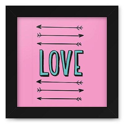 Quadro 20x20 Love Style Arrows