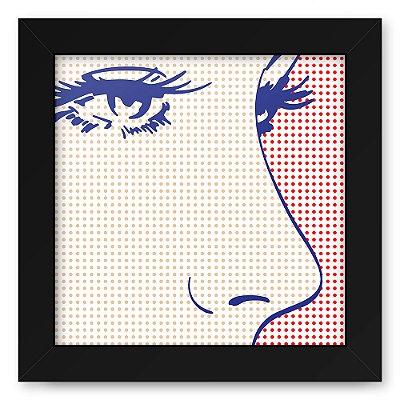 Quadro 20x20 Retro Eyes