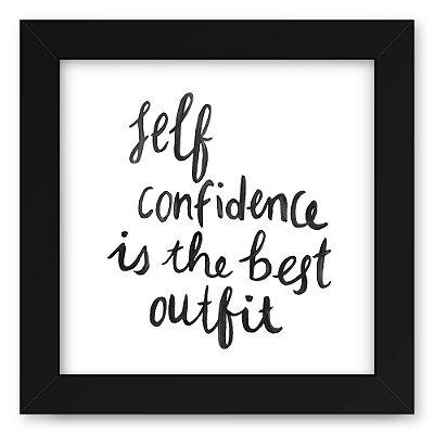 Quadro 20x20 Self Confidence