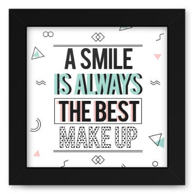 Quadro 20x20 Smile Makeup