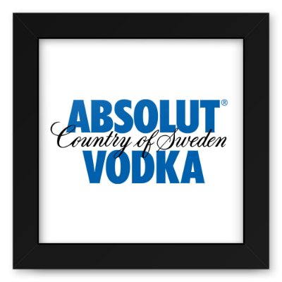 Quadro 20x20 Vodka Absolut