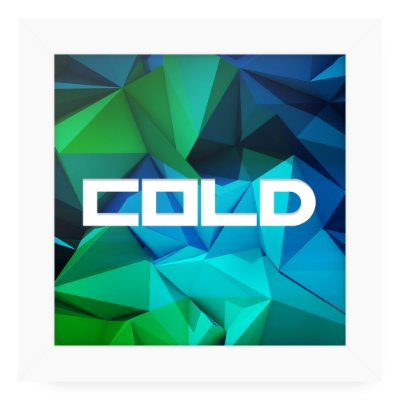Quadro 20x20 Weather Cold