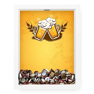 Quadro Porta Tampinha de Cerveja  Beer Fancy