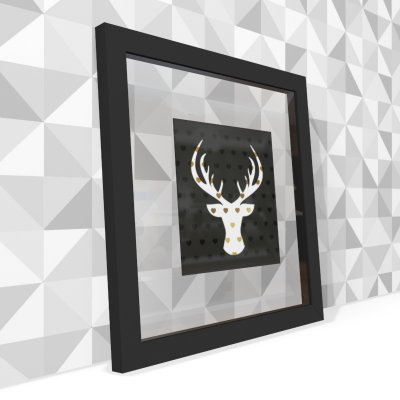 Quadro Transparente Deer
