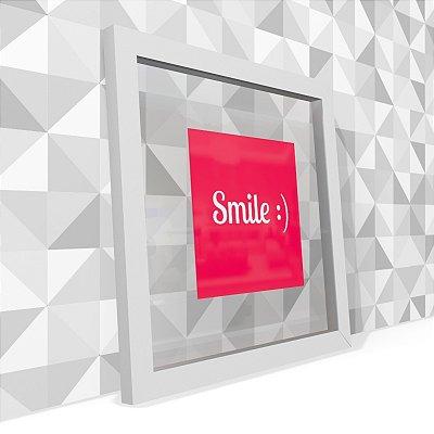 Quadro Transparente Smile
