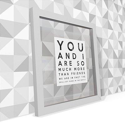 Quadro Transparente You And I