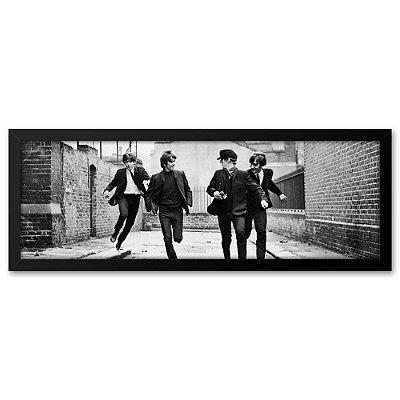 """Quadro 60x20 Beatles """"A Corrida"""""""