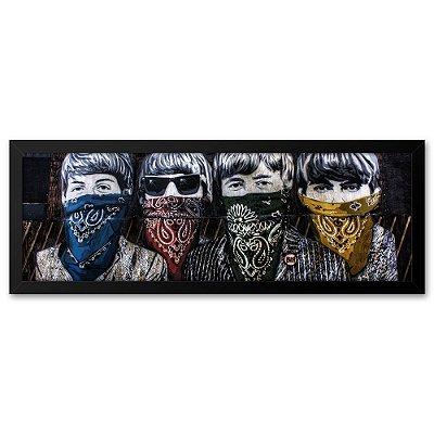 Quadro 60x20 Beatles Mafia