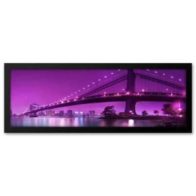 Quadro 60x20 Ponte do Brooklin Nova Iorque