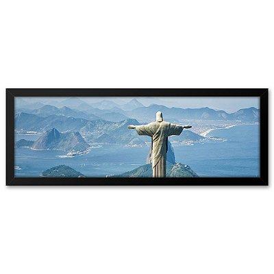 Quadro 60x20 Cristo Rio de Janeiro