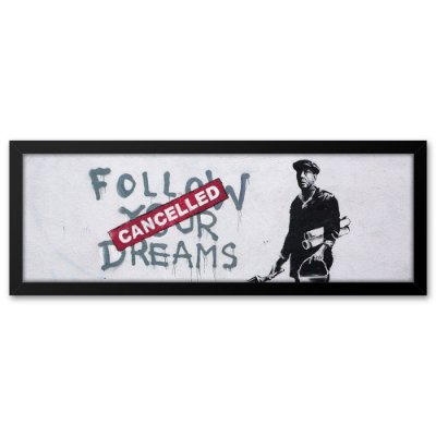 Quadro 60x20 Grafite Dreams