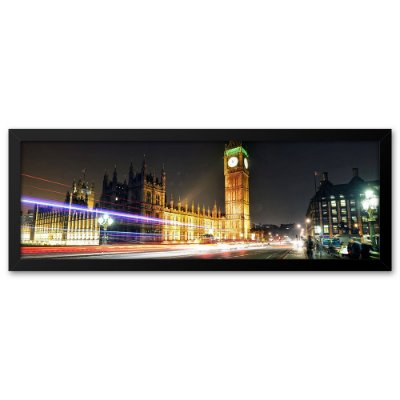 Quadro 60x20 Big bang Londres