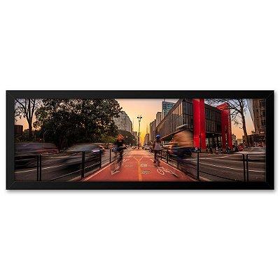 Quadro 60x20 MASP São Paulo Avenida Paulista