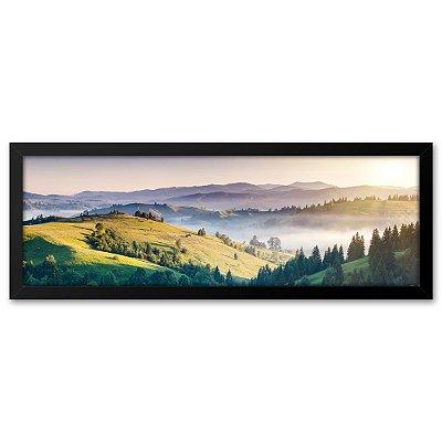 Quadro 60x20 Paisagem Montanha Europa