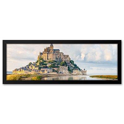 Quadro 60x20 Monte São Michel França