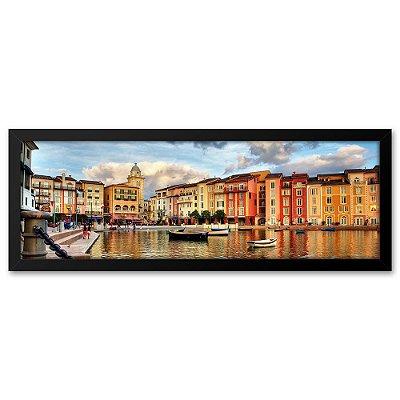 Quadro 60x20 Portofino Itália