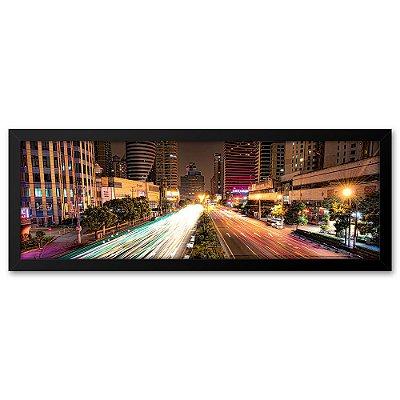 Quadro 60x20 Cidade de Shangai