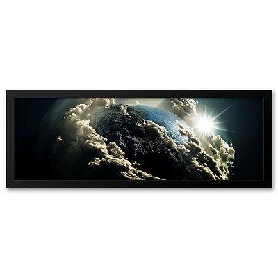 Quadro 60x20 Planeta Terra