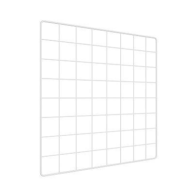 Memory Board Adoraria Aramado 40x40 Branco